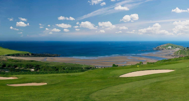 'Bigbury Golf Club', Bigbury-on-Sea, Devon, The Course 2010 Par 3 15th