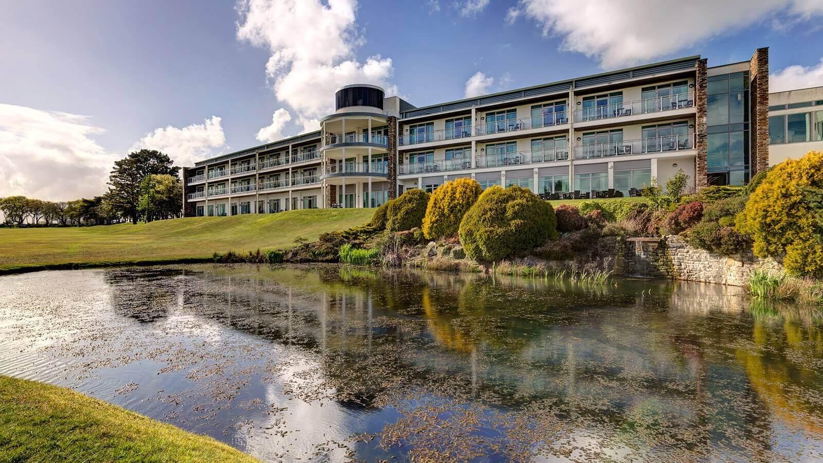 St Mellion Hotel Pond