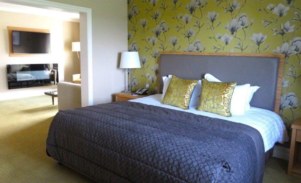 Couryard Suite Bedroom
