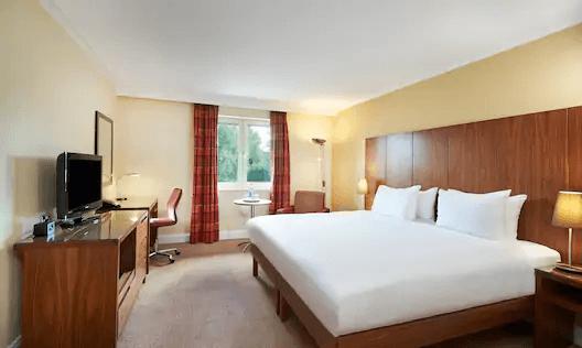 Hilton Bristol North Queen Guest Room